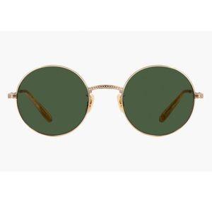 New Garett Leight Seville sunglasses 48mm gold